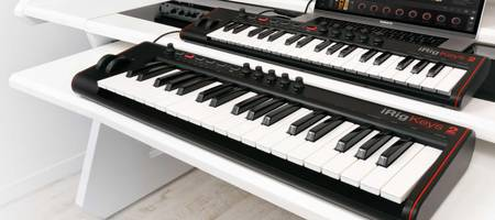 IK Multimedia released 2 new MIDI Keyboards