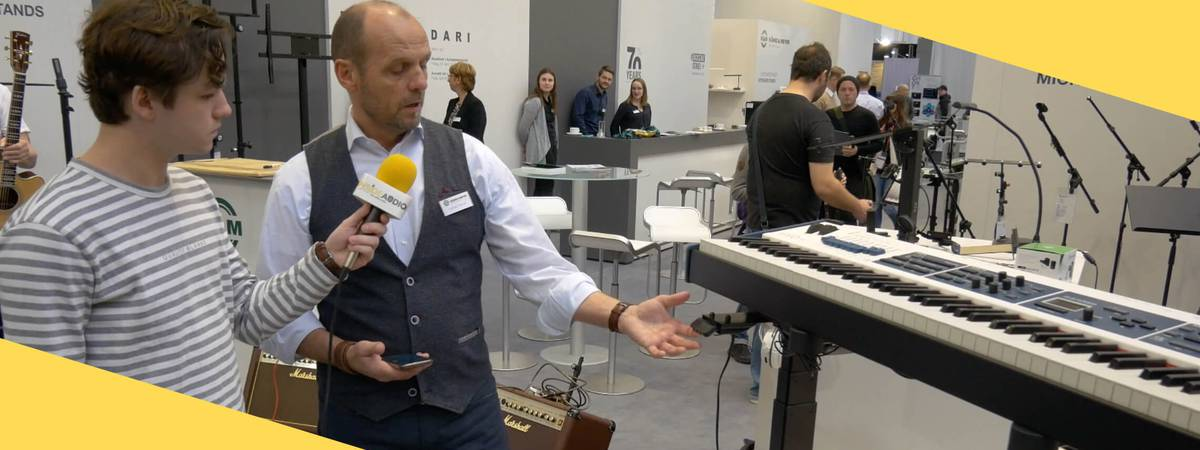 Musikmesse 2019: Perfect studio & stage ergonomics with König & Meyer