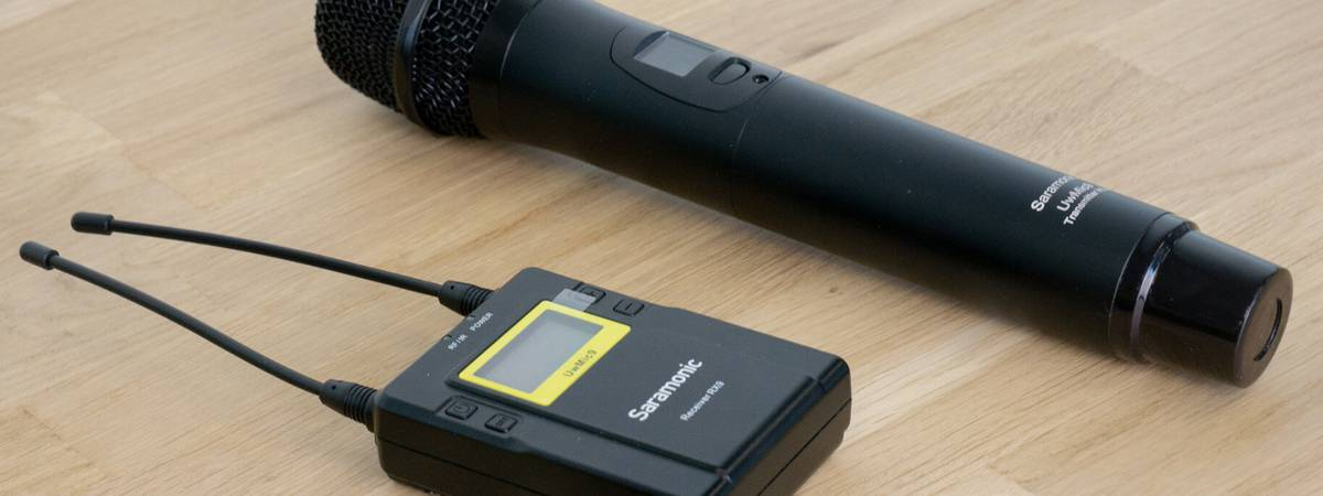 Review: Saramomic UwMic9 with the RX9 and HU9 'perfect and affordable interview microphone'