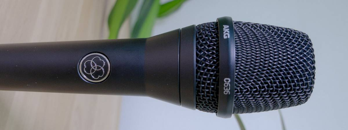 Review: AKG C636 condenser Vocal Microphone