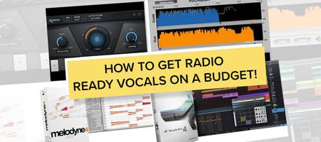 Black Friday plug-in deals for achieving radio ready vocals!