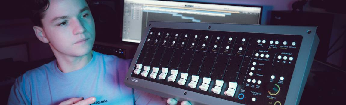 Review: Softube Console 1 Fader 'New addition to the Console 1'