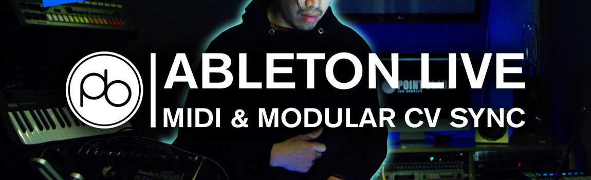 Point Blank Shows How to Sync Ableton Live with Modular Synths Using MIDI to CV Conversion