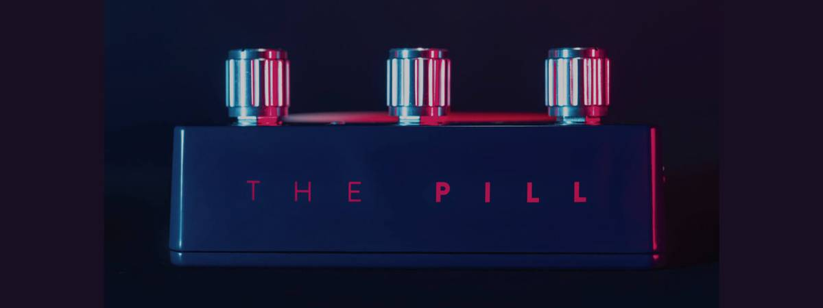 The Pill - Ducking Effect Pedal launched on Kickstarter