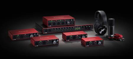 Focusrite released the new Scarlett 3rd generation range with USB Type-C