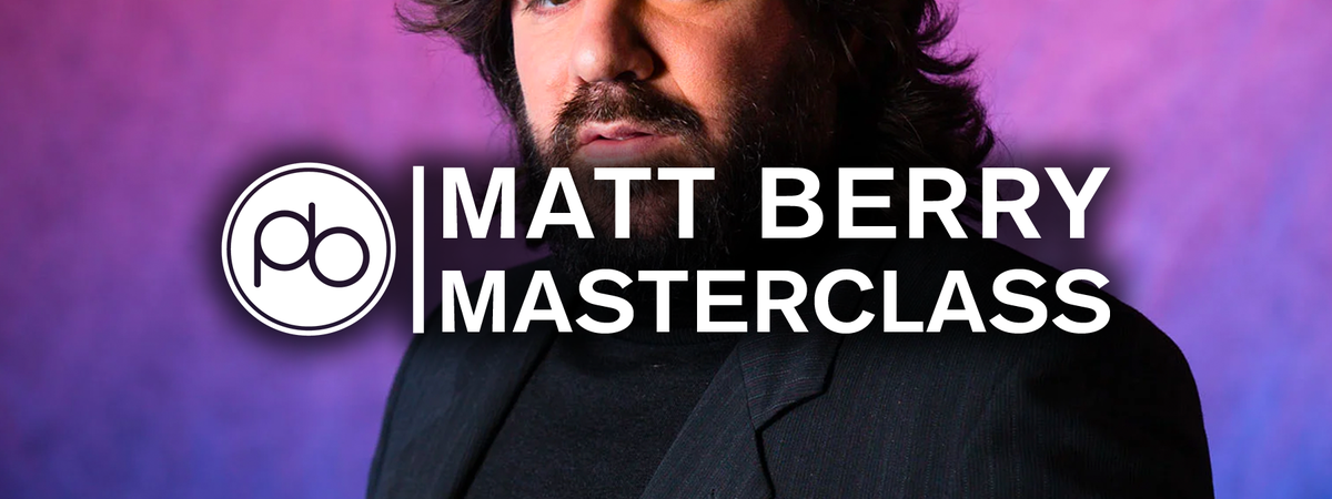Watch Matt Berry Talk Tips for Creative Inspiration with Point Blank