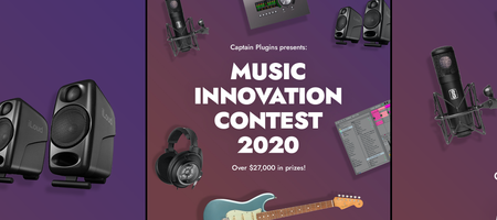 Captain Plugins $27.000 music gear contest