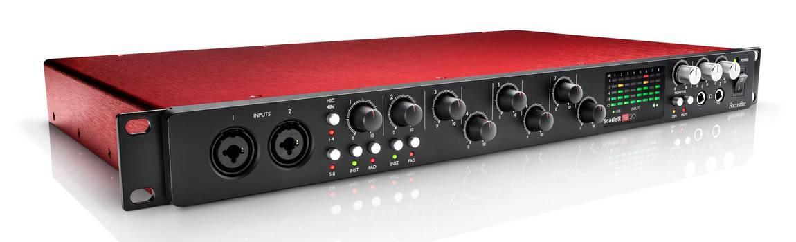Review: the Focusrite Scarlett 18I20