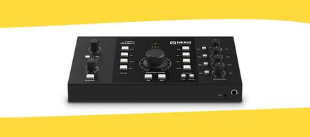 Audient lanceert nieuwe desktop studio monitor controller - Audient Nero