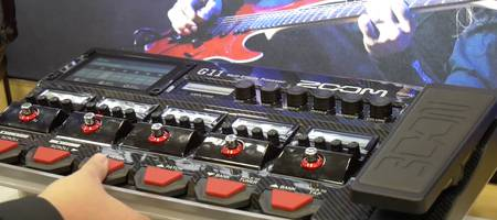 NAMM 2020 VIDEO: De Zoom G11 multi-effect pedaal