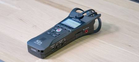 Review: Zoom H1n Handy Recorder 'the portable hand field recorder'