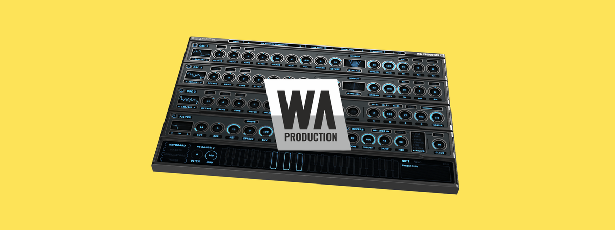Review: Babylon the 'One Page Wonder' synth from WA Production