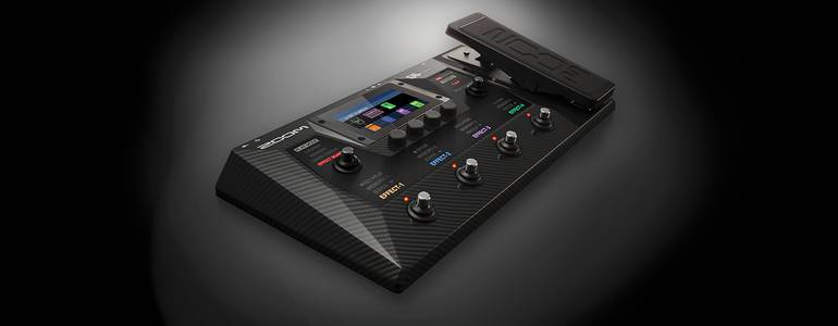 NAMM 2021: Zoom released de G6 Multi-Effects Processor