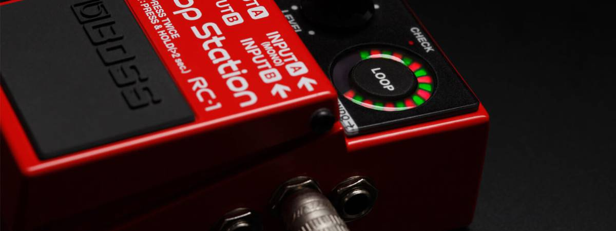 BOSS unveils SY-1 synthesizer pedal and RC-10r rhythm loop station