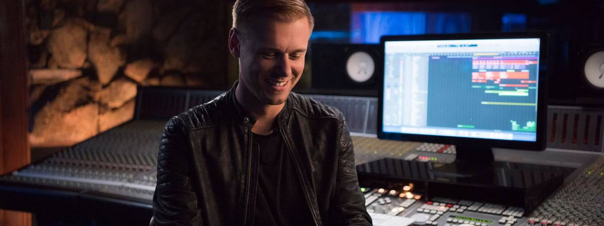 Armin van Buuren announced as teacher on MasterClass.com