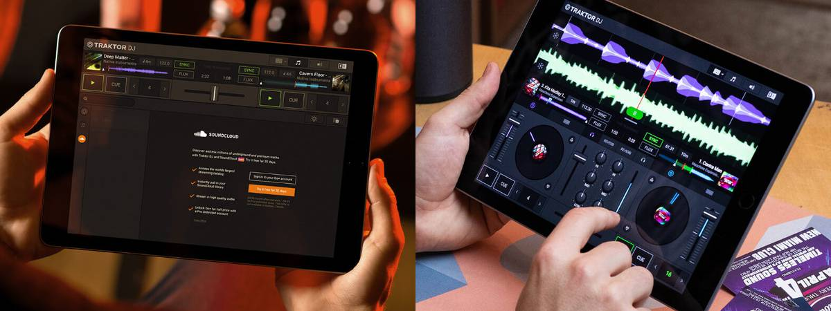 New free DJ app by Native Instruments named TRAKTOR DJ 2
