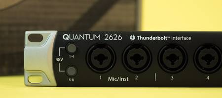 Review: PreSonus Quantum 2626 Thunderbolt 3 audio interface