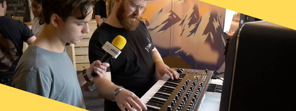 SUPERBOOTH19: Novation Summit synthesizer overview!