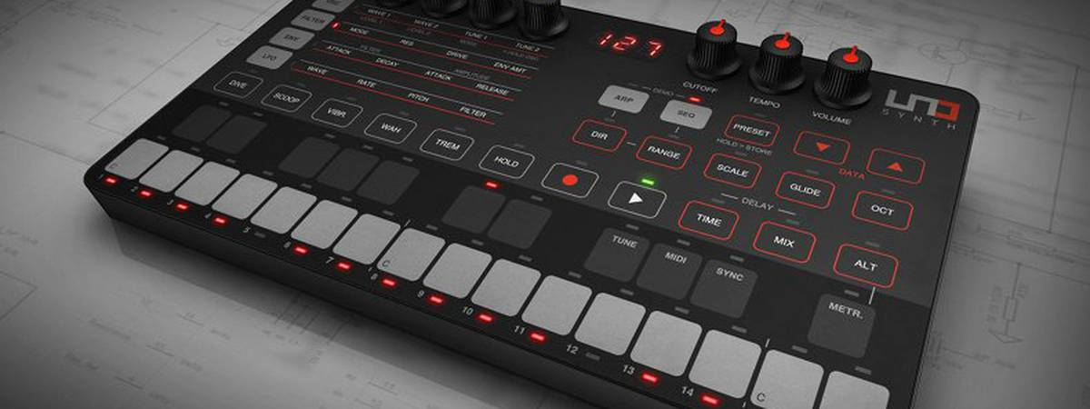 IK Multimedia unveils UNO Synth - $200 analog, portable monophonic synthesizer