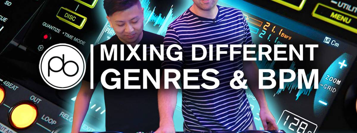 Learn Essential DJ Tips for Mixing Different Genres & BPM w/ Point Blank