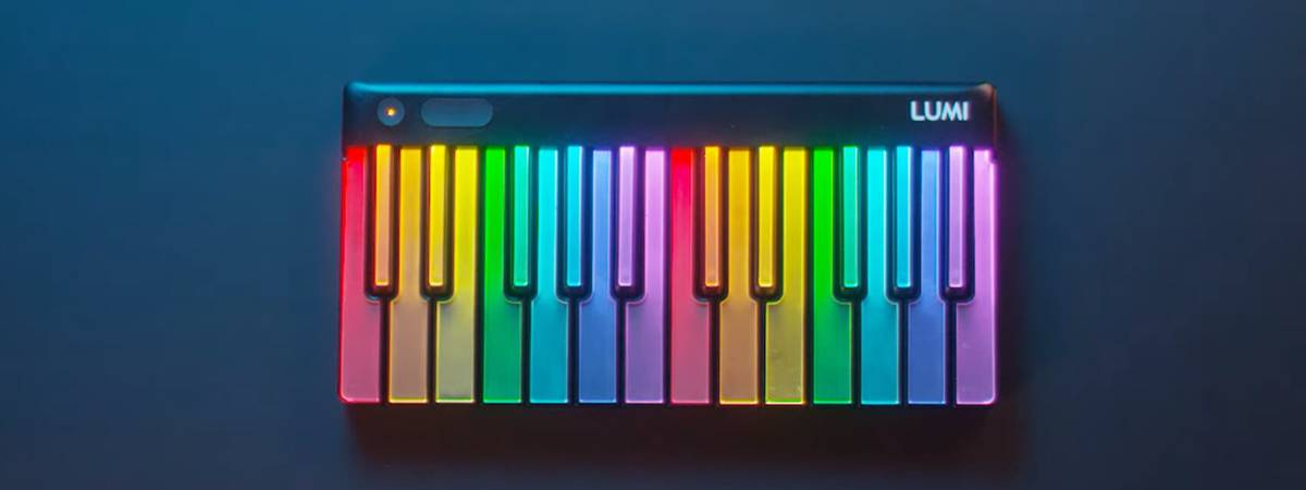 ROLI introduces LUMI, the illuminated keyboard for beginners and pro's