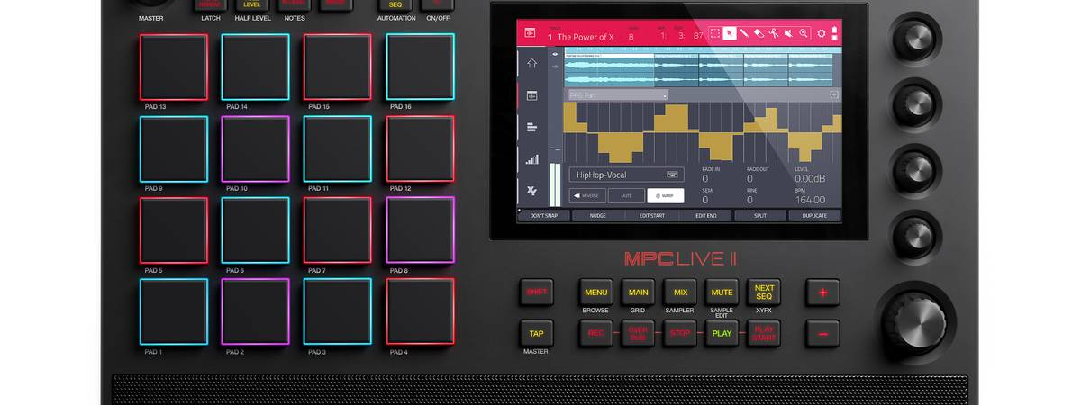 Akai introduces MPC LIVE II - with built-in monitors