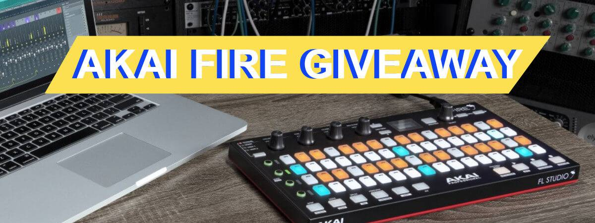 AKAI Fire for FL Studio giveaway!