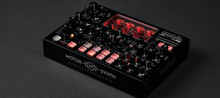 Gamechanger Audio launches crowdfunding campaign for electro-mechanical MOTOR Synth