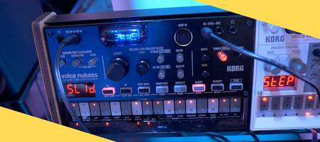 SUPERBOOTH19: First look at the Korg Volca Nubass