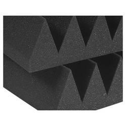 Auralex Studiofoam Wedge 4 inch halfsize grijs