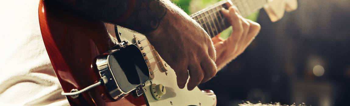 Create a complete band with just a guitar player - with OMB