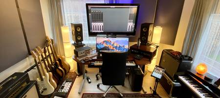 How to improve your home studio acoustics on a budget!