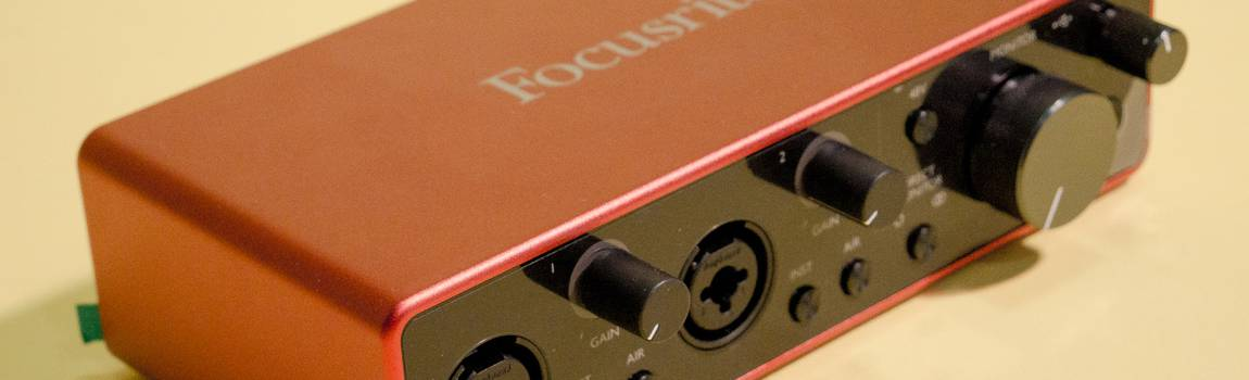 Review: De derde generatie Focusrite 2i2 audio interface