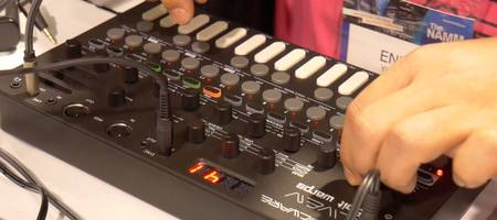 NAMM 2020 VIDEO: De portable synthesizer van Sonicware