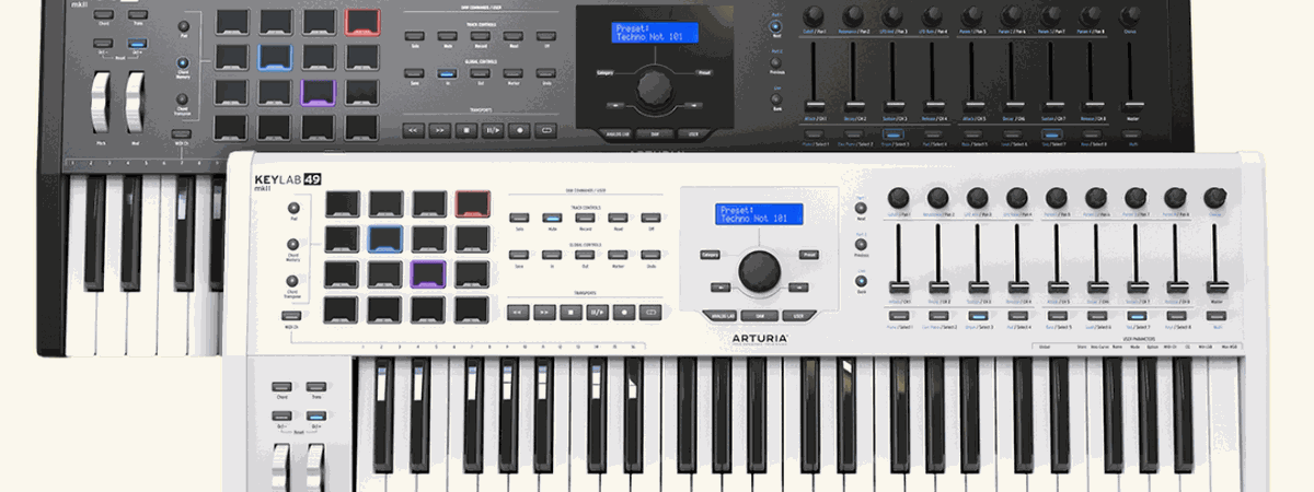 Arturia unveils the latest generation of their legendary KeyLab MIDI controller line