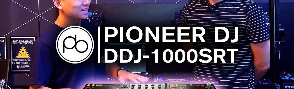 First Look: Pioneer DJ DDJ-1000SRT Overview w/ Point Blank