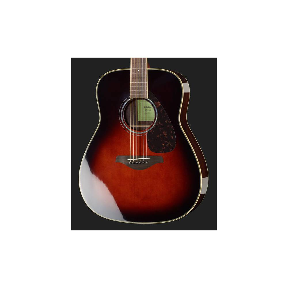 Yamaha FG830 TBS Tobacco Brown Sunburst westerngitaar