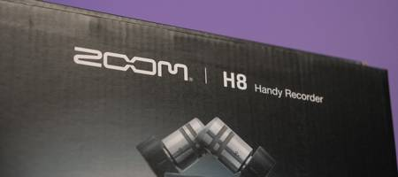 Review: Zoom H8 handy field recorder