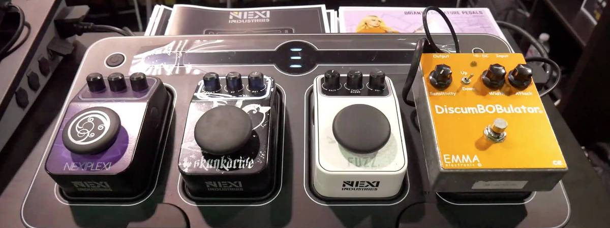 NAMM 2020 VIDEO: NEXI Industries gitaar pedaal is waterdicht en modulair!