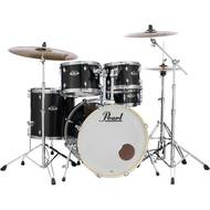Pearl EXX725FBR/C31 Export Jet Black drumstel incl. bekkenset