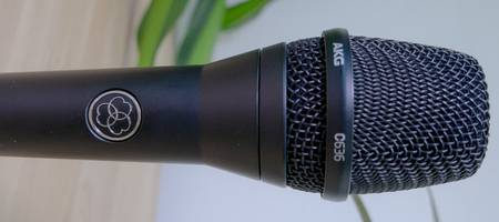 Review: AKG C636 Condenser Vocal Microfoon 'studio sound on stage'