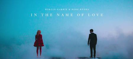 Who made 'In The Name of Love' by Garrix and Bebe?