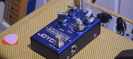 Review: JOYO Aquarius Loopstation en Delay