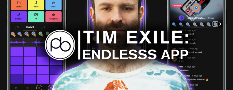 Watch Tim Exile Demo his New Music Collaboration App Endlesss for Point Blank