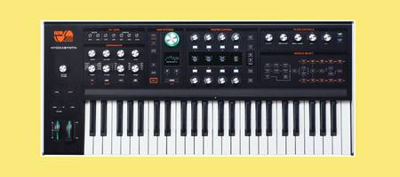 Ashun Sound Machines (ASM) announce Hydrasynth wave morphing synthesizer with Polytouch™ polyphonic aftertouch