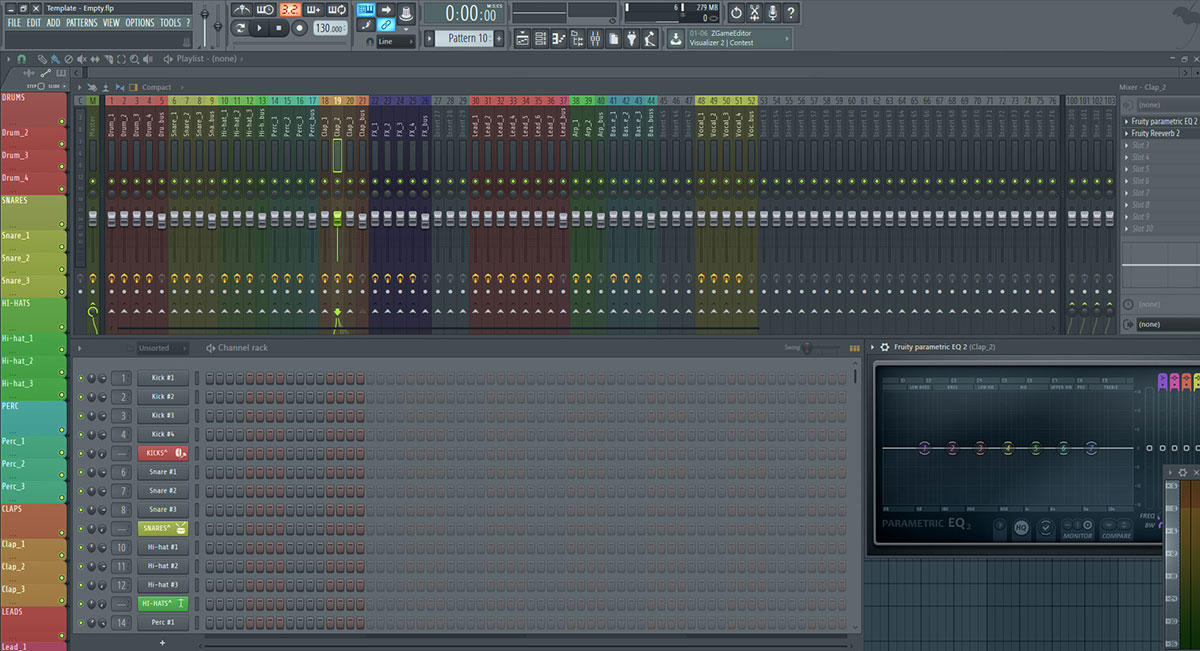 Free FL-studio template - InsideAudio